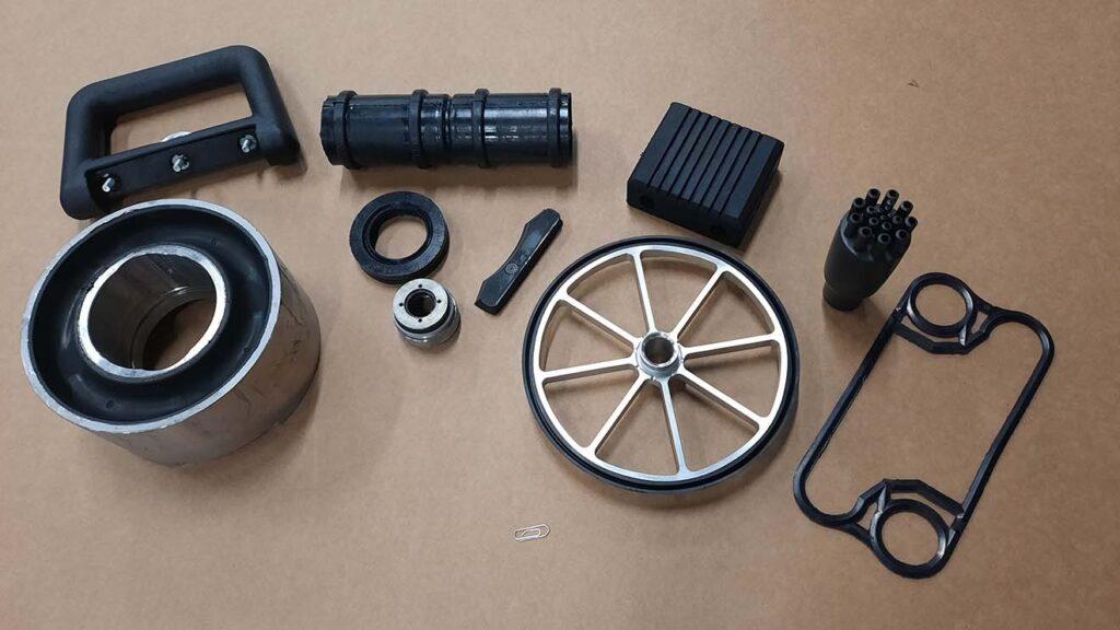 Kundespecifikke gummiemner i alle modeller og sammensætninger - Olet Industrigummi A/S